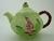 Carlton Ware Green Foxglove Teapot