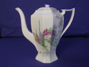 Shelley Archway of Roses (11606) Coffee Pot
