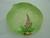 Carlton Ware Green Foxglove Plate
