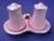 Royal Winton Pink Petunia Salt & Pepper Set