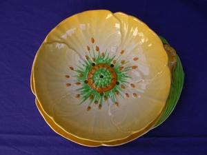Carlton Ware Yellow Buttercup Cress Dish & Tray