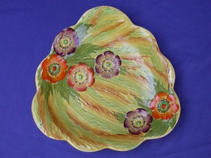 Carlton Ware Anemone Plate