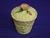 Carlton Ware Yellow/Cream Poppy Preserve Pot