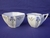 Shelley Blue Iris (11561) Creamer & Sugar Bowl