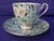 Shelley Green Daisy Chintz Cup & Saucer