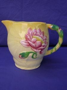 Carlton Ware Yellow Water Lily Jug