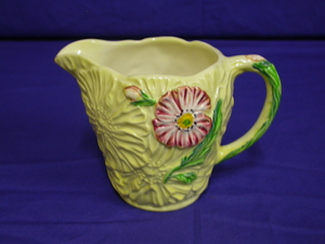 Carlton Ware Yellow/Cream Poppy Jug/Creamer