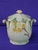 Royal Winton Green/Yellow Primula Biscuit Barrell