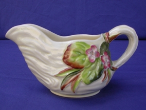 Clarice Cliff Water Lily Gravy Boat