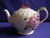 Clarice Cliff Floral Fluted Teapot