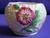Carlton Ware Green Poppy Sugar Bowl