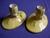 Royal Winton Yellow Petunia Candlestick Holders