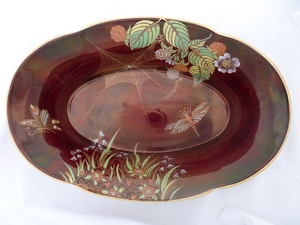 Carlton Ware Rouge Royale Spiders Web Bowl