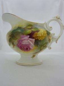 Royal Worcester Hadley Roses Jug