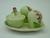 Carlton Ware Green Foxglove Cruet Set