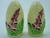 Carlton Ware Yellow Foxglove Large Salt & Pepper Shakers