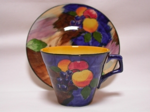H & K Tunstall Autumn Cup & Saucer