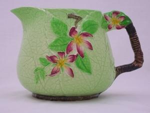 Carlton Ware Green Apple Blossom Jug (Large)